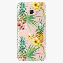 Plastový kryt iSaprio - Pineapple Pattern 02 - Samsung Galaxy A3 2017