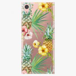 Plastový kryt iSaprio - Pineapple Pattern 02 - Sony Xperia XA1