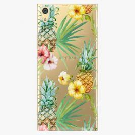 Plastový kryt iSaprio - Pineapple Pattern 02 - Sony Xperia XA1 Ultra