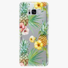 Plastový kryt iSaprio - Pineapple Pattern 02 - Samsung Galaxy S8 Plus