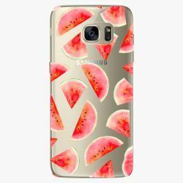 Plastový kryt iSaprio - Melon Pattern 02 - Samsung Galaxy S7 Edge