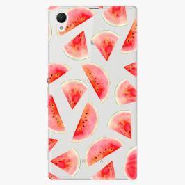 Plastový kryt iSaprio - Melon Pattern 02 - Sony Xperia Z1
