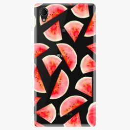 Plastový kryt iSaprio - Melon Pattern 02 - Sony Xperia M4