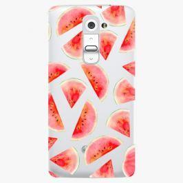 Plastový kryt iSaprio - Melon Pattern 02 - LG G2 (D802B)