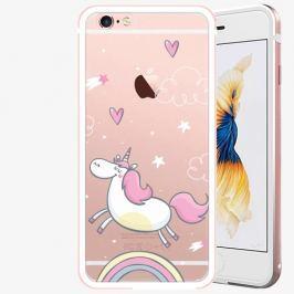 Plastový kryt iSaprio - Unicorn 01 - iPhone 6/6S - Rose Gold