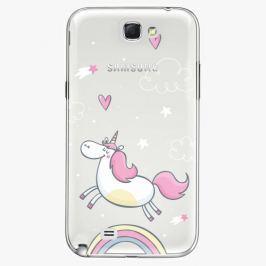 Plastový kryt iSaprio - Unicorn 01 - Samsung Galaxy Note 2 Pouzdra, kryty a obaly na mobil Samsung Galaxy Note 2
