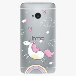 Plastový kryt iSaprio - Unicorn 01 - HTC One M7
