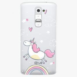 Plastový kryt iSaprio - Unicorn 01 - LG G2 (D802B)