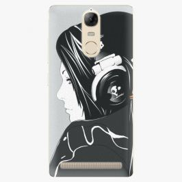 Plastový kryt iSaprio - Headphones - Lenovo K5 Note
