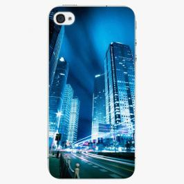 Plastový kryt iSaprio - Night City Blue - iPhone 4/4S
