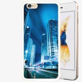Plastový kryt iSaprio - Night City Blue - iPhone 6 Plus/6S Plus - Gold