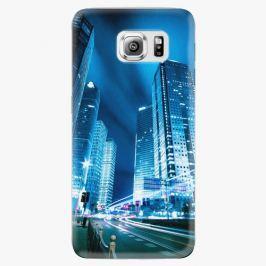 Plastový kryt iSaprio - Night City Blue - Samsung Galaxy S6 Edge Plus