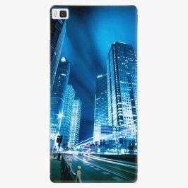 Plastový kryt iSaprio - Night City Blue - Huawei Ascend P8