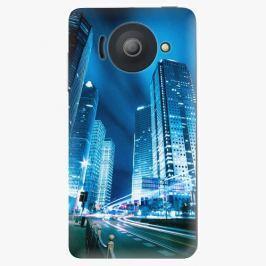 Plastový kryt iSaprio - Night City Blue - Huawei Ascend Y300