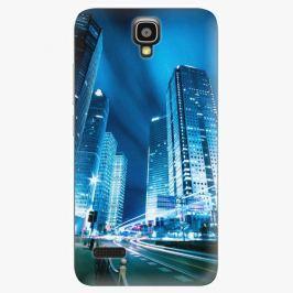 Plastový kryt iSaprio - Night City Blue - Huawei Ascend Y5