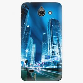 Plastový kryt iSaprio - Night City Blue - Huawei Ascend Y550