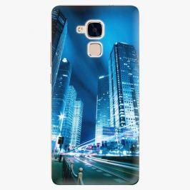 Plastový kryt iSaprio - Night City Blue - Huawei Honor 7 Lite