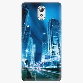 Plastový kryt iSaprio - Night City Blue - Lenovo P1m