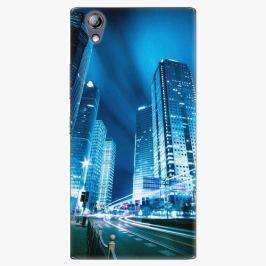 Plastový kryt iSaprio - Night City Blue - Lenovo P70