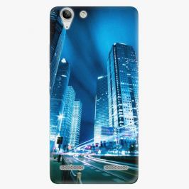 Plastový kryt iSaprio - Night City Blue - Lenovo Vibe K5