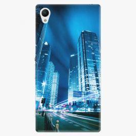 Plastový kryt iSaprio - Night City Blue - Sony Xperia Z1