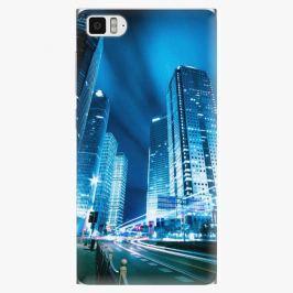 Plastový kryt iSaprio - Night City Blue - Xiaomi Mi3
