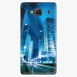 Plastový kryt iSaprio - Night City Blue - Xiaomi Redmi 2
