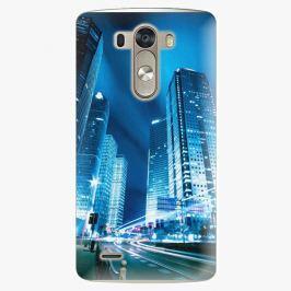 Plastový kryt iSaprio - Night City Blue - LG G3 (D855)