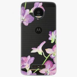 Plastový kryt iSaprio - Purple Orchid - Lenovo Moto Z