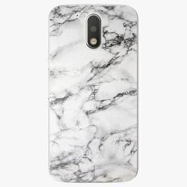 Plastový kryt iSaprio - White Marble 01 - Lenovo Moto G4 / G4 Plus