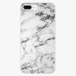 Plastový kryt iSaprio - White Marble 01 - iPhone 8 Plus