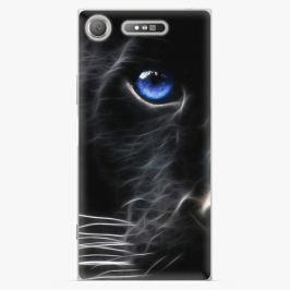 Plastový kryt iSaprio - Black Puma - Sony Xperia XZ1