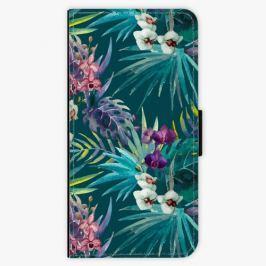Flipové pouzdro iSaprio - Tropical Blue 01 - iPhone 5/5S/SE