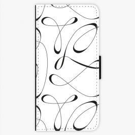 Flipové pouzdro iSaprio - Fancy - black - LG G6 (H870)