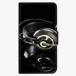 Flipové pouzdro iSaprio - Headphones 02 - iPhone X