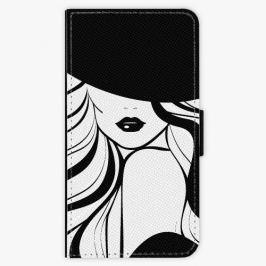 Flipové pouzdro iSaprio - First Lady - Samsung Galaxy J3 2017