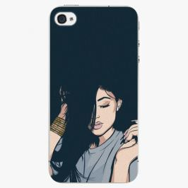 Plastový kryt iSaprio - Swag Girl - iPhone 4/4S