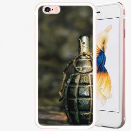 Plastový kryt iSaprio - Grenade - iPhone 6/6S - Rose Gold