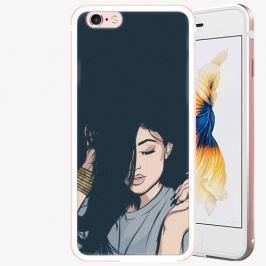 Plastový kryt iSaprio - Swag Girl - iPhone 6/6S - Rose Gold
