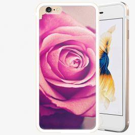 Plastový kryt iSaprio - Pink Rose - iPhone 6/6S - Gold