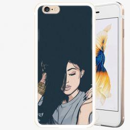 Plastový kryt iSaprio - Swag Girl - iPhone 6/6S - Gold