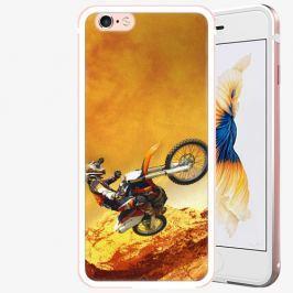 Plastový kryt iSaprio - Motocross - iPhone 6 Plus/6S Plus - Rose Gold