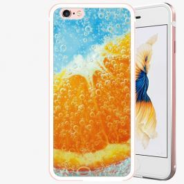 Plastový kryt iSaprio - Orange Water - iPhone 6 Plus/6S Plus - Rose Gold