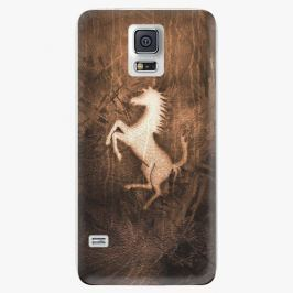 Plastový kryt iSaprio - Vintage Horse - Samsung Galaxy S5