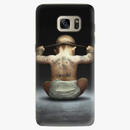 Plastový kryt iSaprio - Crazy Baby - Samsung Galaxy S7 Edge