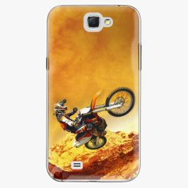 Plastový kryt iSaprio - Motocross - Samsung Galaxy Note 2