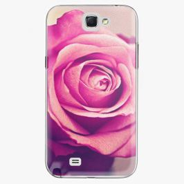 Plastový kryt iSaprio - Pink Rose - Samsung Galaxy Note 2