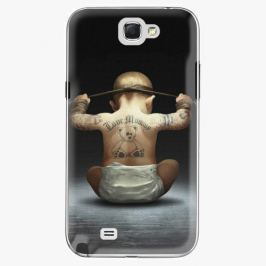 Plastový kryt iSaprio - Crazy Baby - Samsung Galaxy Note 2