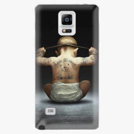 Plastový kryt iSaprio - Crazy Baby - Samsung Galaxy Note 4