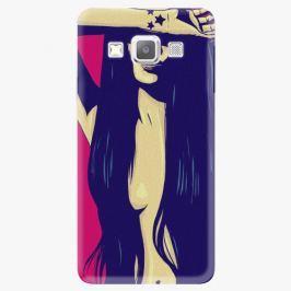 Plastový kryt iSaprio - Cartoon Girl - Samsung Galaxy A5